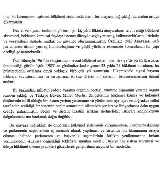 İşte 21 maddelik Yeni Anayasa teklifi galerisi resim 38
