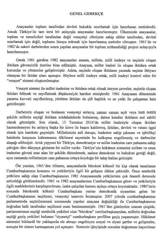 İşte 21 maddelik Yeni Anayasa teklifi galerisi resim 40