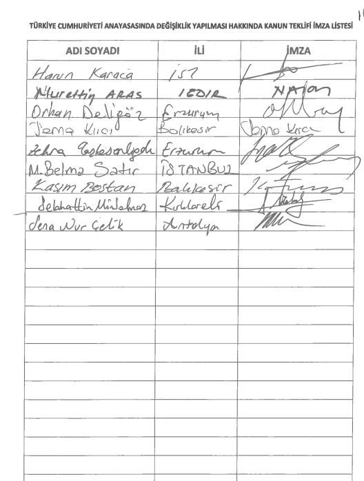 İşte 21 maddelik Yeni Anayasa teklifi galerisi resim 5