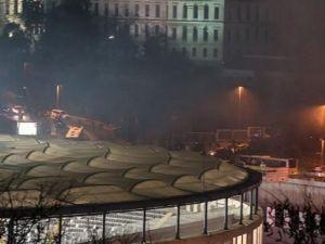 İstanbul'daki patlamadan ilk kareler