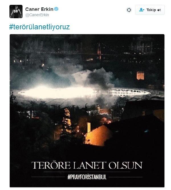 Futbolculardan teröre lanet yağdı galerisi resim 7