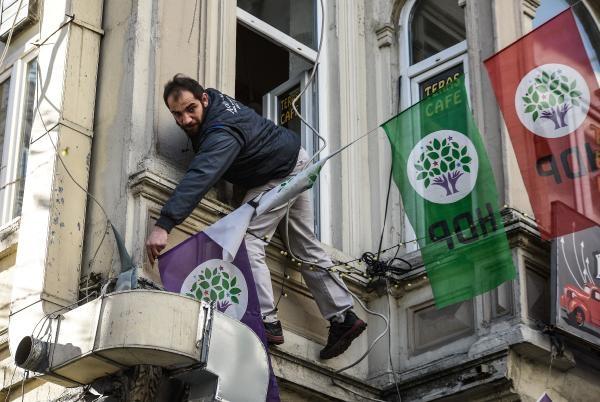 HDP Şişli binasına saldırı galerisi resim 1