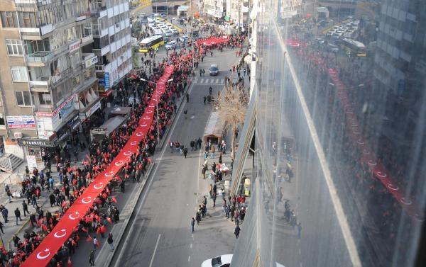 Diyarbakır'da binlerce kişi terörü lanetledi galerisi resim 1