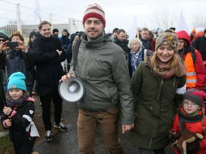 Berlin'den 'Halep İçin Sivil Yürüyüş'