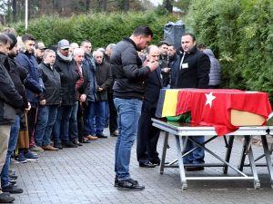 Gurbetçi genç Belçika'da toprağa verildi