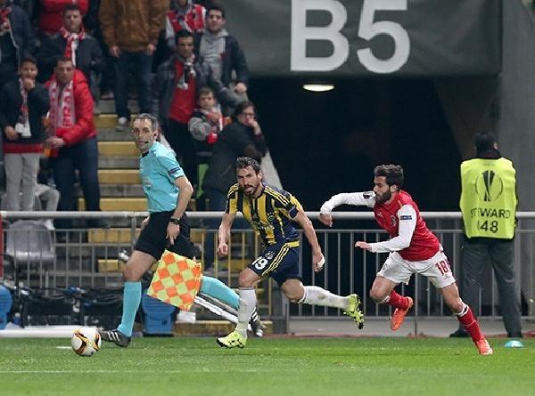 Braga-Fenerbahçe maçının ardından galerisi resim 4