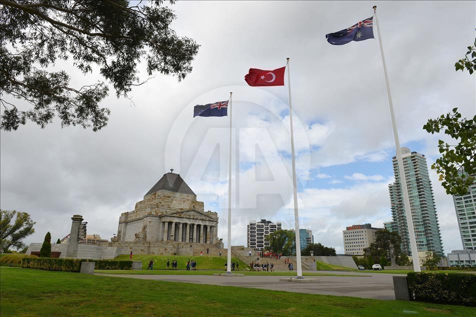 Çanakkale Şehitleri Avustralya'da anıldı galerisi resim 4