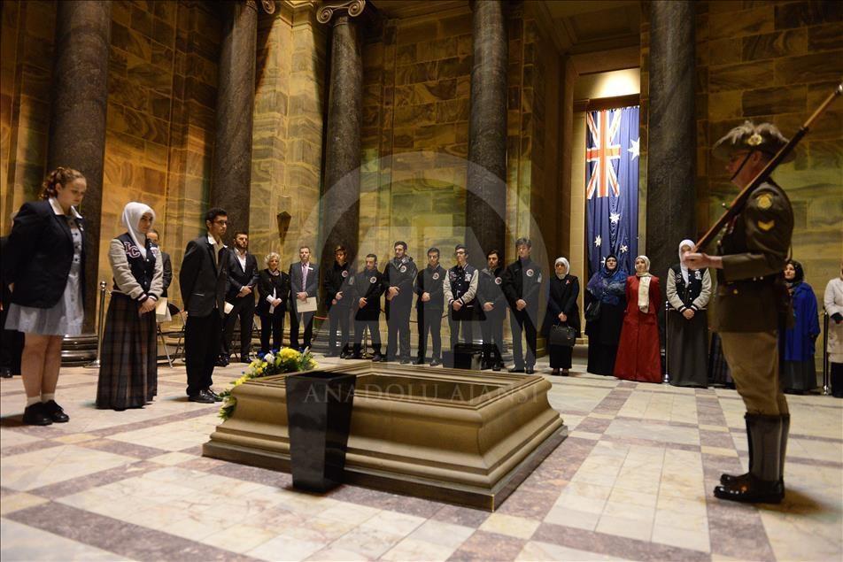 Çanakkale Şehitleri Avustralya'da anıldı galerisi resim 6