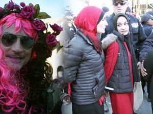 Dünya çapında 'Kadınsız Bir Gün' eylemleri