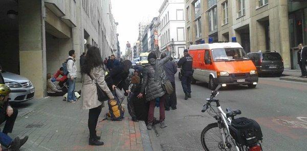 Belçika'da üçlü terör saldırısı galerisi resim 5