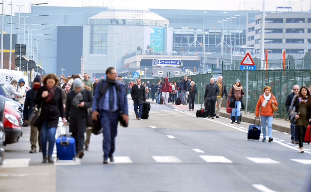 Belçika'da üçlü terör saldırısı galerisi resim 7