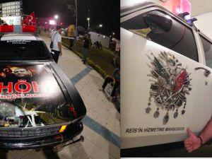Harran'a 'Halk Özel Harekat' otomobili hediye