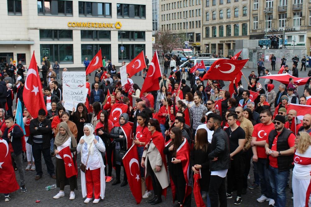 Frankfurt'ta terör protestosu galerisi resim 4