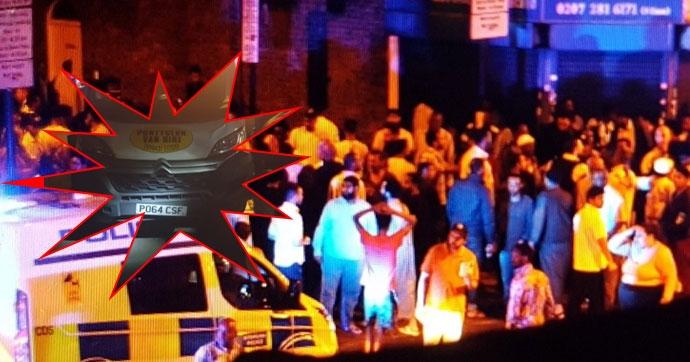 Londra'da 'muhtemel terör saldırısı' galerisi resim 1