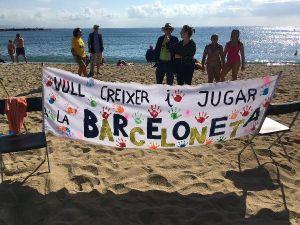 Barselona halkı, turizme karşı
