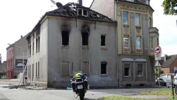 Almanya'da yangın 2 can aldı galerisi resim 1