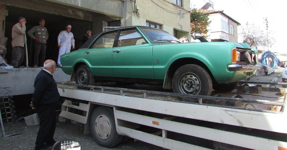 Almanya'dan getirdiği arabayı 37 yıl sakladı galerisi resim 5