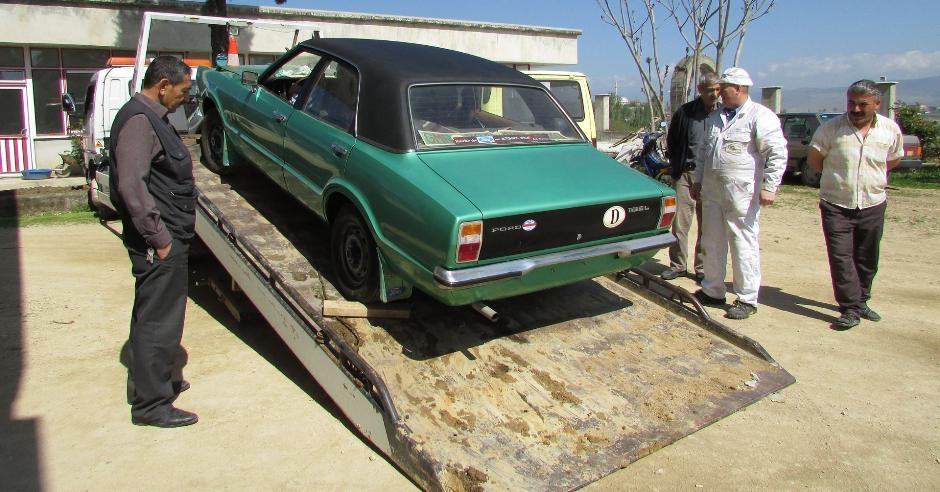 Almanya'dan getirdiği arabayı 37 yıl sakladı galerisi resim 6