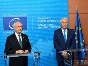Kılıçdaroğlu Dünya Demokrasi Forumu'nda konuştu