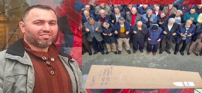 Hollanda'da öldürülen Türk, Of'ta toprağa verildi