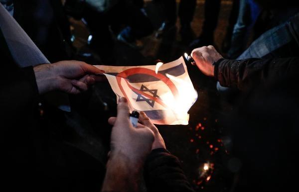 ABD'nin 'Kudüs kararı' protestosu edildi galerisi resim 1