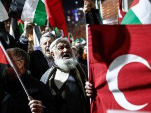 ABD'nin 'Kudüs kararı' protestosu edildi