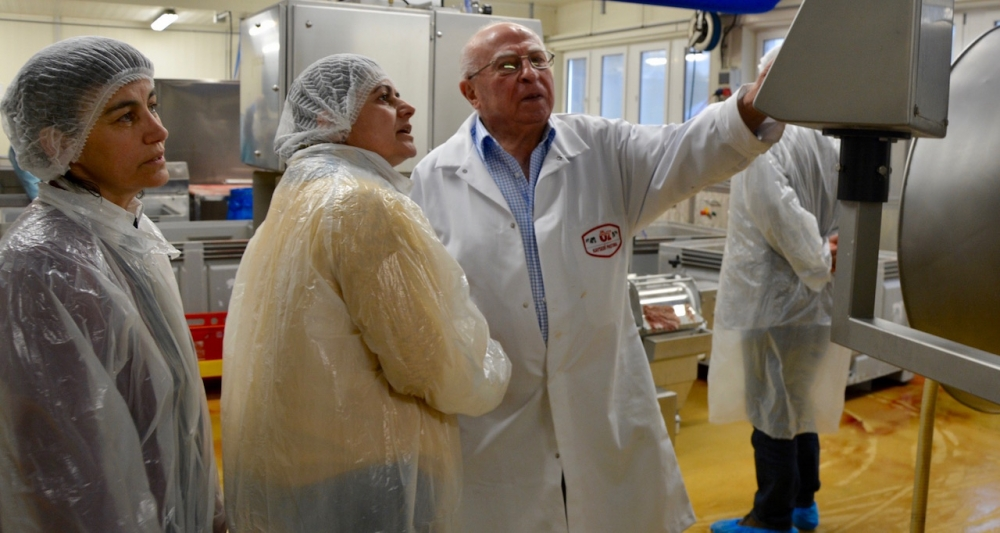 Öz Kayseri Fabrikası'nı ziyaret ettiler galerisi resim 13