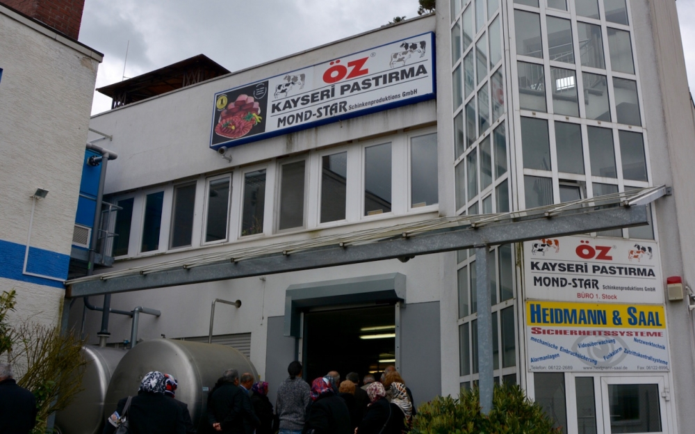 Öz Kayseri Fabrikası'nı ziyaret ettiler galerisi resim 23