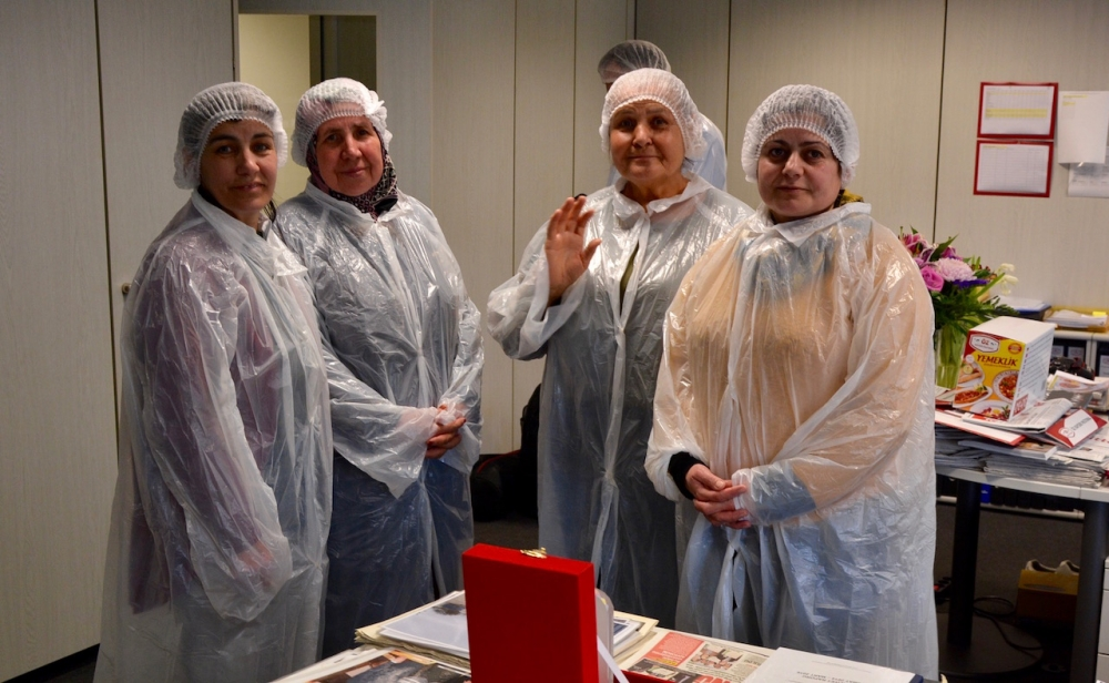 Öz Kayseri Fabrikası'nı ziyaret ettiler galerisi resim 7
