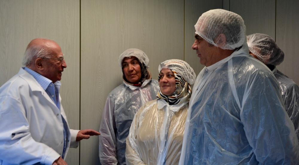 Öz Kayseri Fabrikası'nı ziyaret ettiler galerisi resim 9