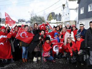 'Türk Köyü'nde karnaval coşkusu