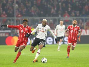 Bayern Münih - Beşiktaş maçından kareler