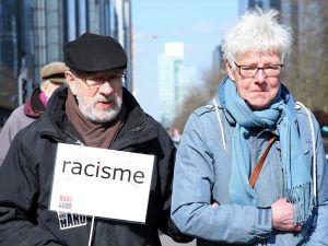 'Irkçılığa karşı el ele'