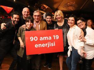Usta 90. yaşını kutladı