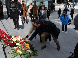 Stockholm kurbanları anıldı