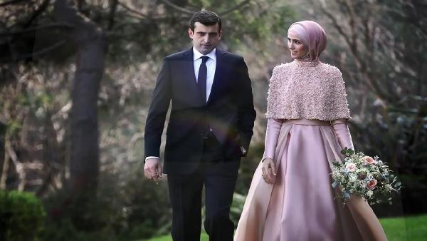 Sümeyye Erdoğan dünya evine girdi galerisi resim 2