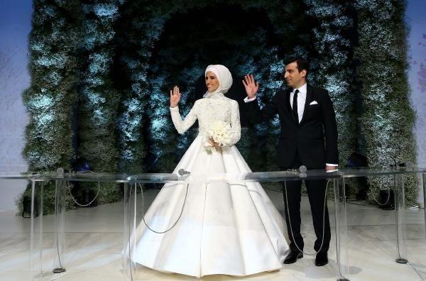 Sümeyye Erdoğan dünya evine girdi galerisi resim 5