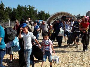 Suriyeliler, bayram için ülkesine gitti