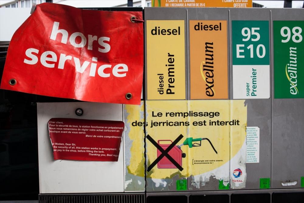 Fransa'da benzin krizi sürüyor galerisi resim 1