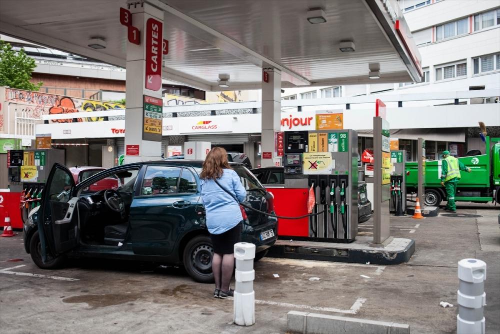 Fransa'da benzin krizi sürüyor galerisi resim 5