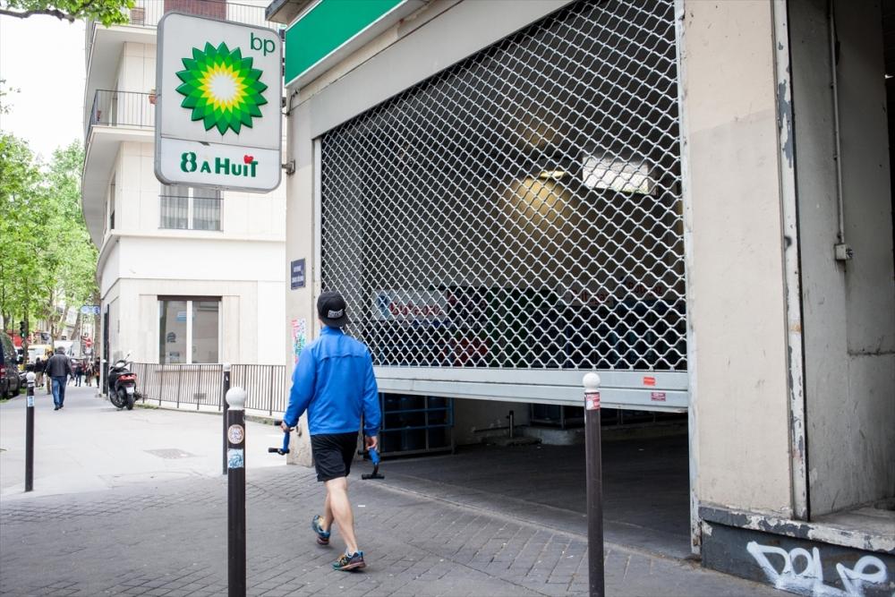 Fransa'da benzin krizi sürüyor galerisi resim 6