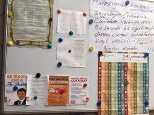 Avrupa'daki camilerde AKP propagandası