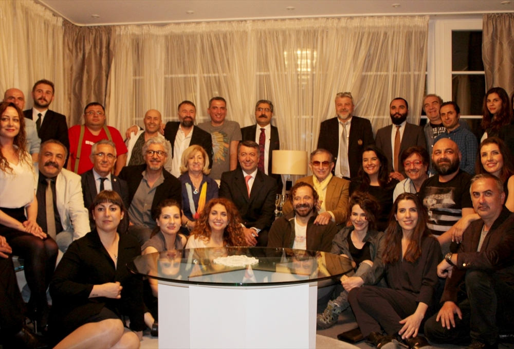 3. Frankfurt Türk Tiyatro Festivali başladı galerisi resim 1