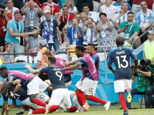 Fransa, çeyrek finale yükselen ilk takım oldu