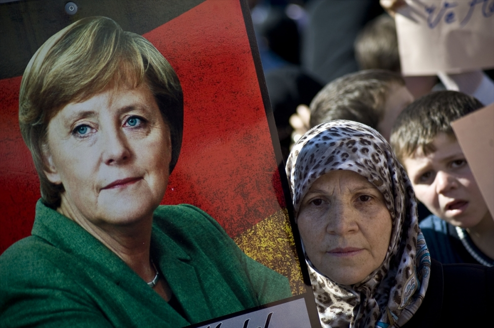 Merkel'e Guinness'e aday 'dev davetiye' galerisi resim 3
