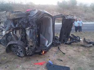 İzin dönüşü kaza: 1 ölü 5 yaralı