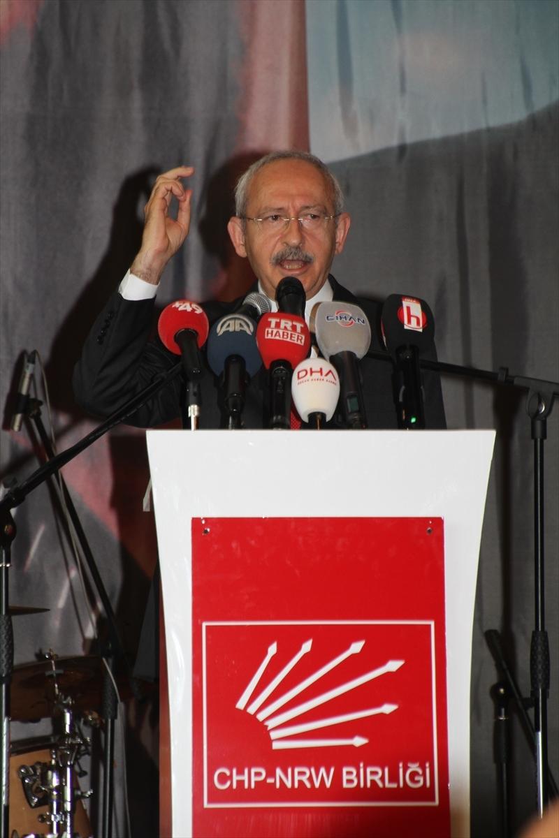 Kılıçdaroğlu, Köln'de konuştu galerisi resim 13
