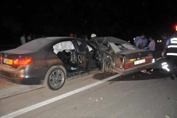 Gurbetçi aile kaza yaptı: 2 ölü, 4 yaralı galerisi resim 1