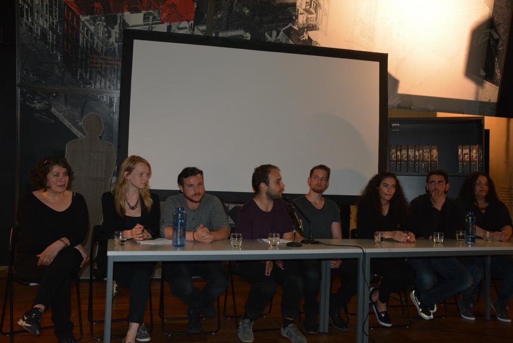 Alman öğrenciler NSU kurbanlarını andı galerisi resim 1
