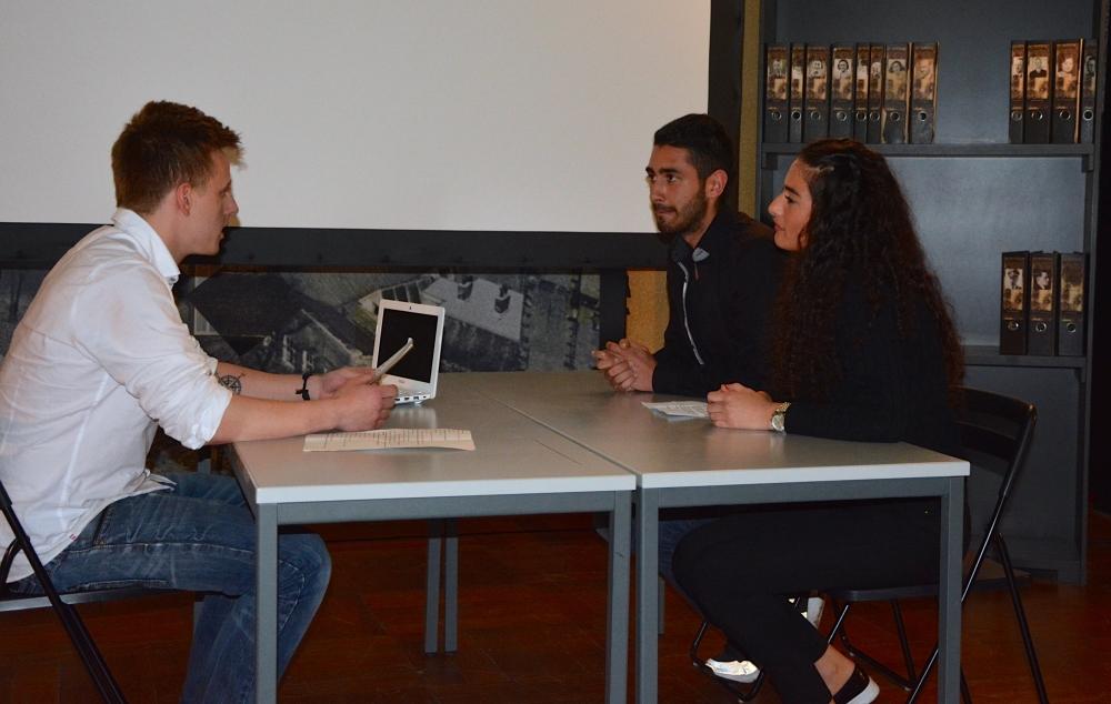 Alman öğrenciler NSU kurbanlarını andı galerisi resim 12